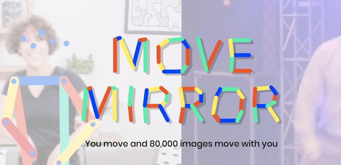 Google guarda i tuoi movimenti e crea una gif corrispondente con Move Mirror