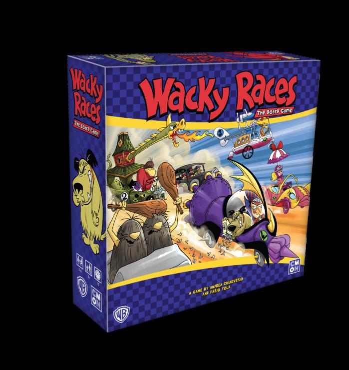 In arrivo il gioco da tavolo di wacky races leganerd
