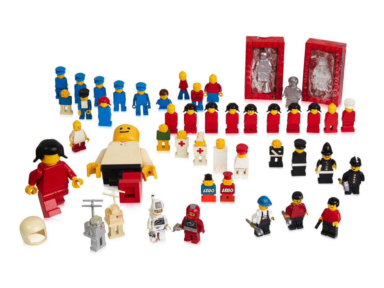 I primi 40 anni di minifigure LEGO