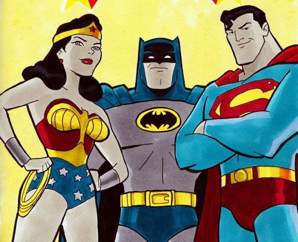 Super Powers Batman, Wonder Woman e Superman Maquette by Tweeterhead