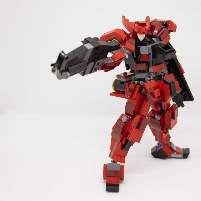 Il robot Red Ghost è l'ultima opera LEGO di Andrea ...
