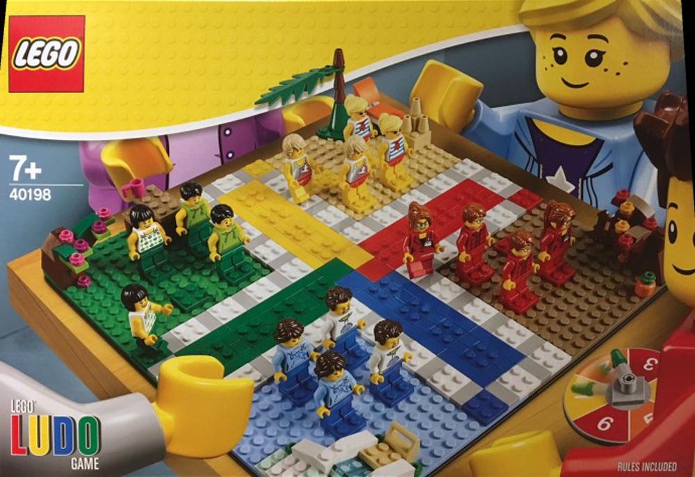 Avvistato il set LEGO 40198 Ludo nello store di Berlino