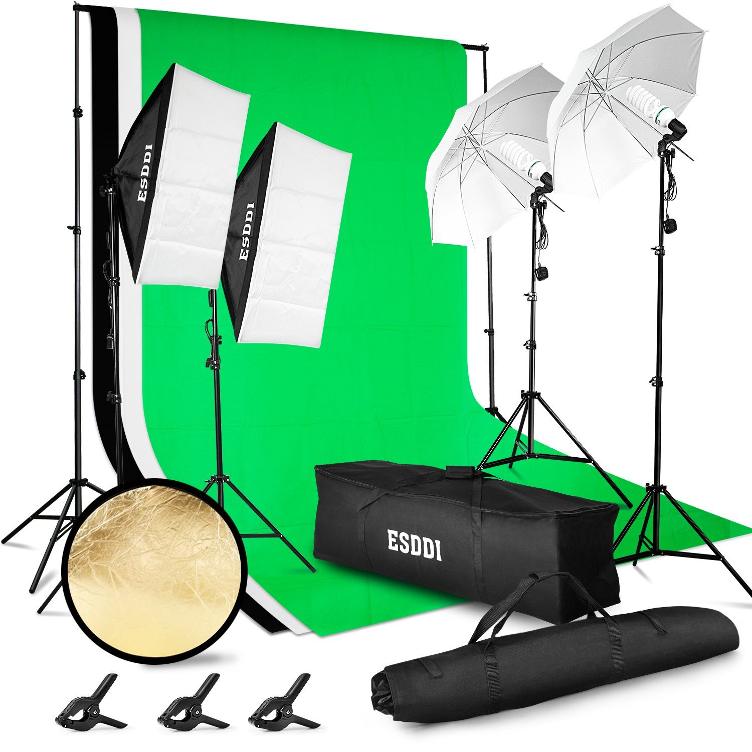 Kit di Illuminazione per fotografia e video ESDDI in offerta con coupon speciale