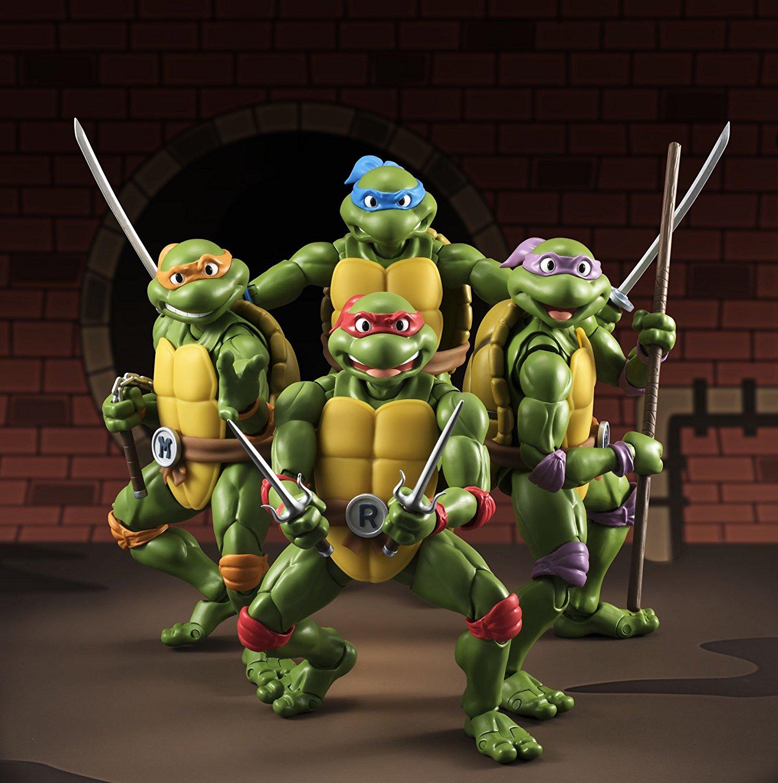 Teenage Mutant Ninja Turtles - S.H. Figuarts di Bandai