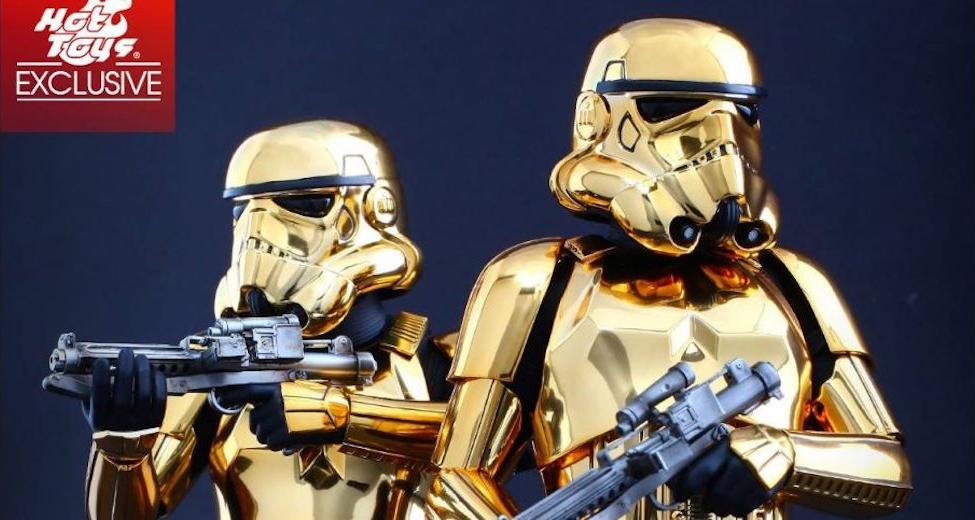 Stormtrooper Gold & Copper - versioni esclusive