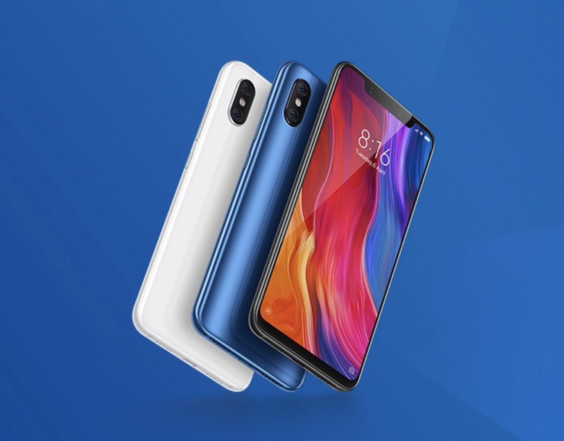 Xiaomi Mi 8 arriva in Italia da oggi a partire da 529,90€