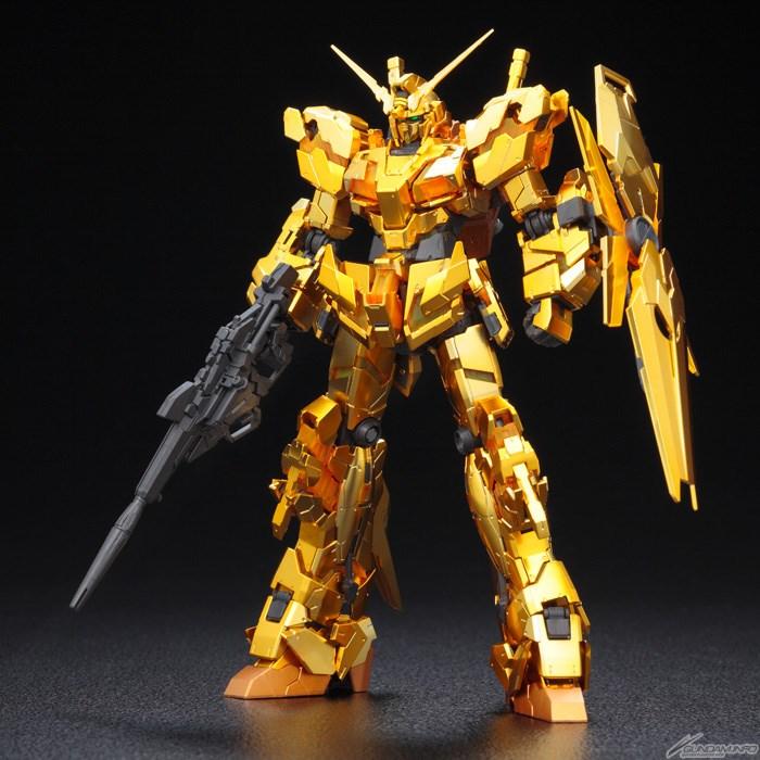 RG RX-0 Unicorn Gundam (con Rivestimento color oro) - Gundam Base Tokyo Limited