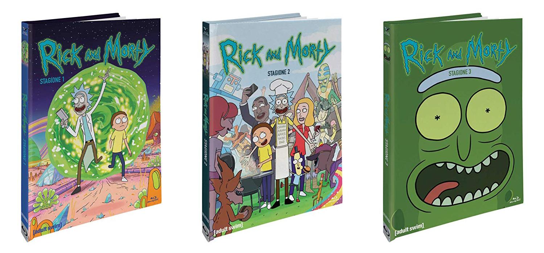 Le 3 stagioni di Rick and Morty arrivano in Home Video in edizione limitata