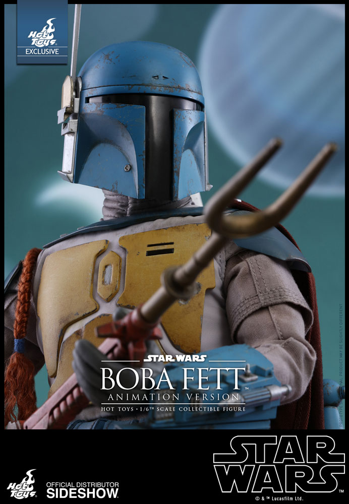 Boba Fett (Animation Version) Sixth Scale Collectible Figure