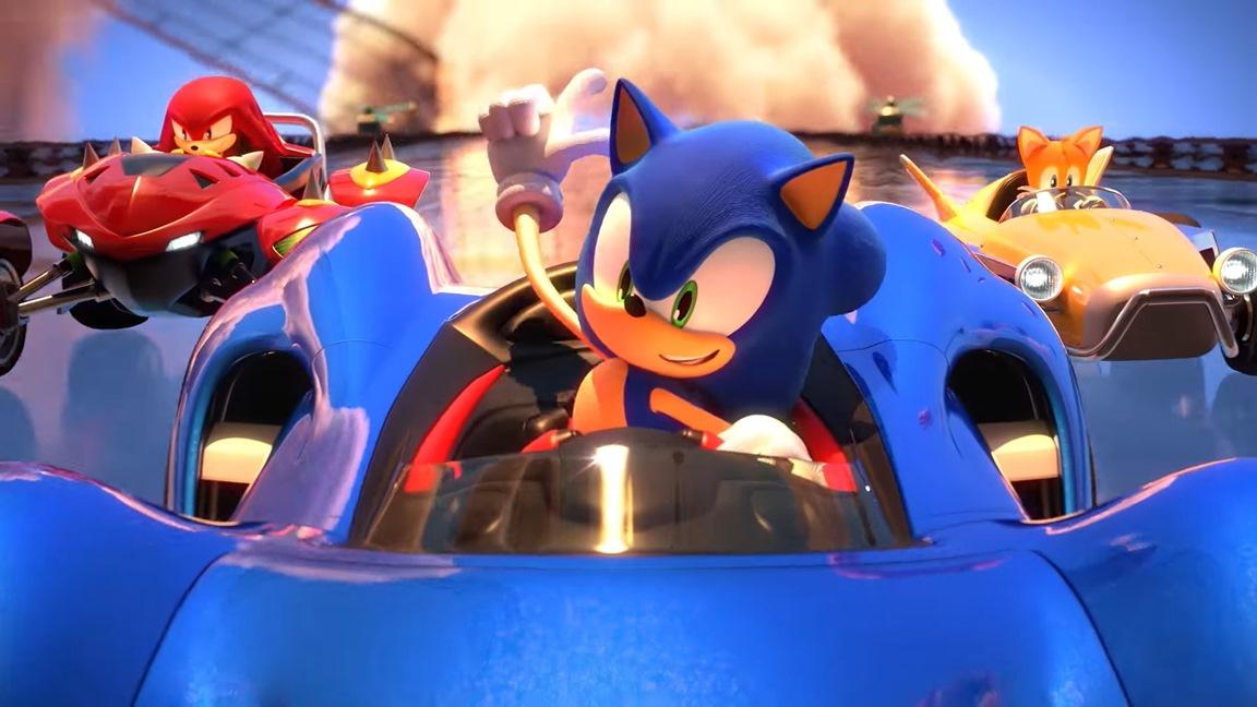 Sonic e i suoi amici premono l'acceleratore nel nuovo video di Team Sonic Racing