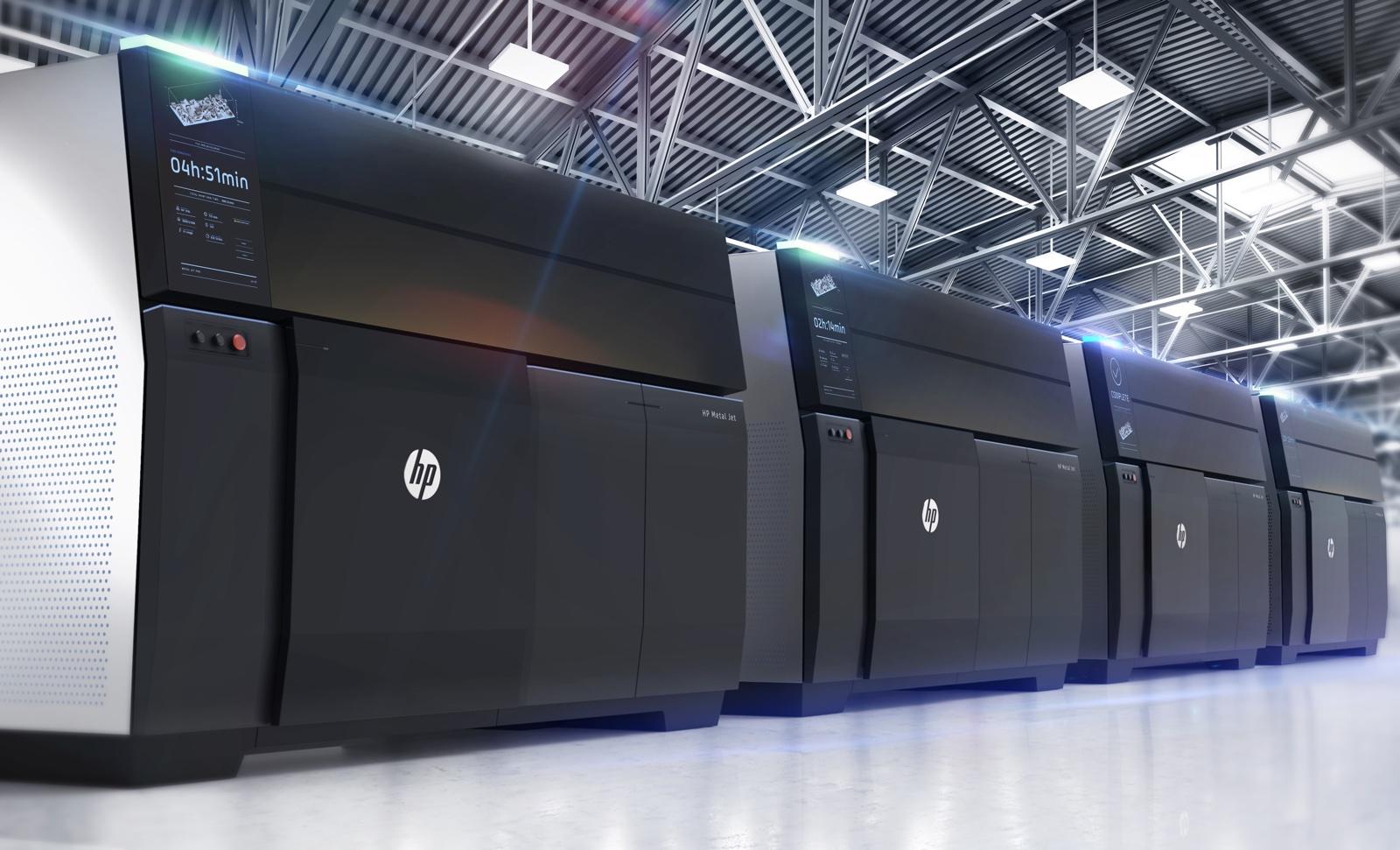 HP presenta una stampante 3D che utilizza il metallo