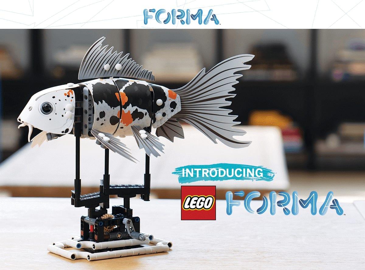 LEGO Forma è il nuovo progetto in crowdfunding di LEGO