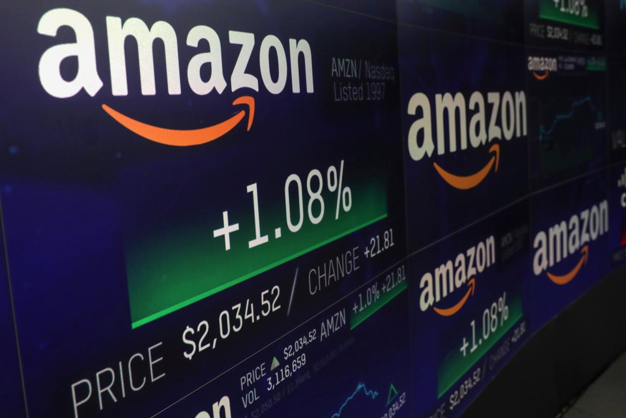 Amazon vola a mille miliardi