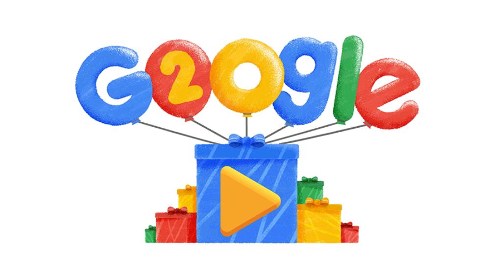 Google si autocelebra con un doodle