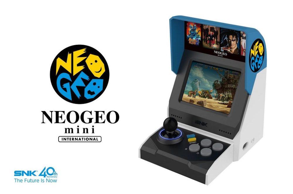 Neo Geo Mini: aperte le prevendite dell'edizione internazionale