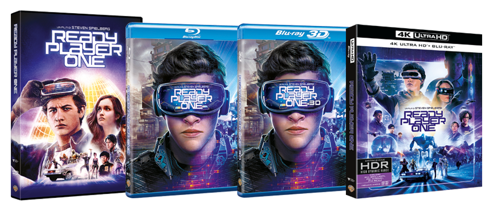 Ready Player One in home video: ecco le specifiche tecniche