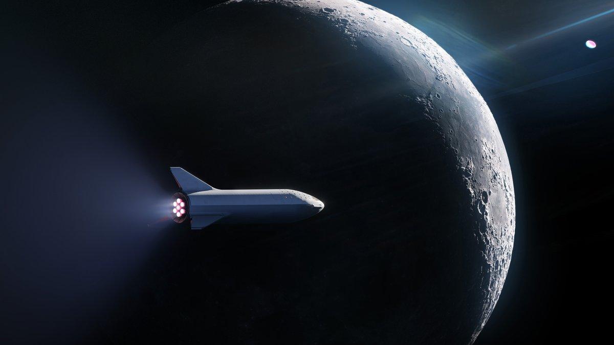 SpaceX manderà ufficialmente un turista attorno alla Luna