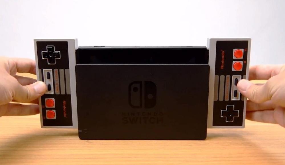 Nintendo lancia i NES wireless gamepad da usare con la Switch