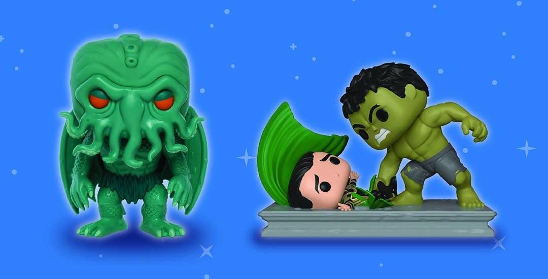 Funko Pop: Hulk Smashing Loki e Cthulhu in esclusiva a Lucca Comics & Games 2018