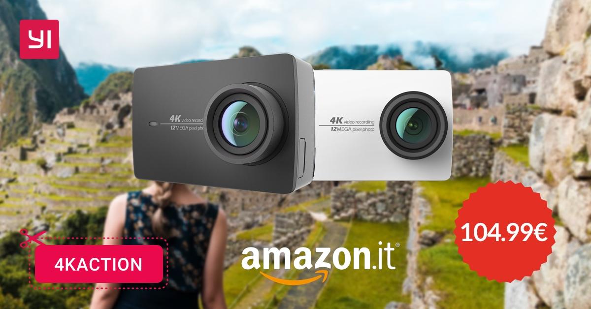 YI Action Camera e YI Action Camera 4K ad un super prezzo grazie a questi coupon