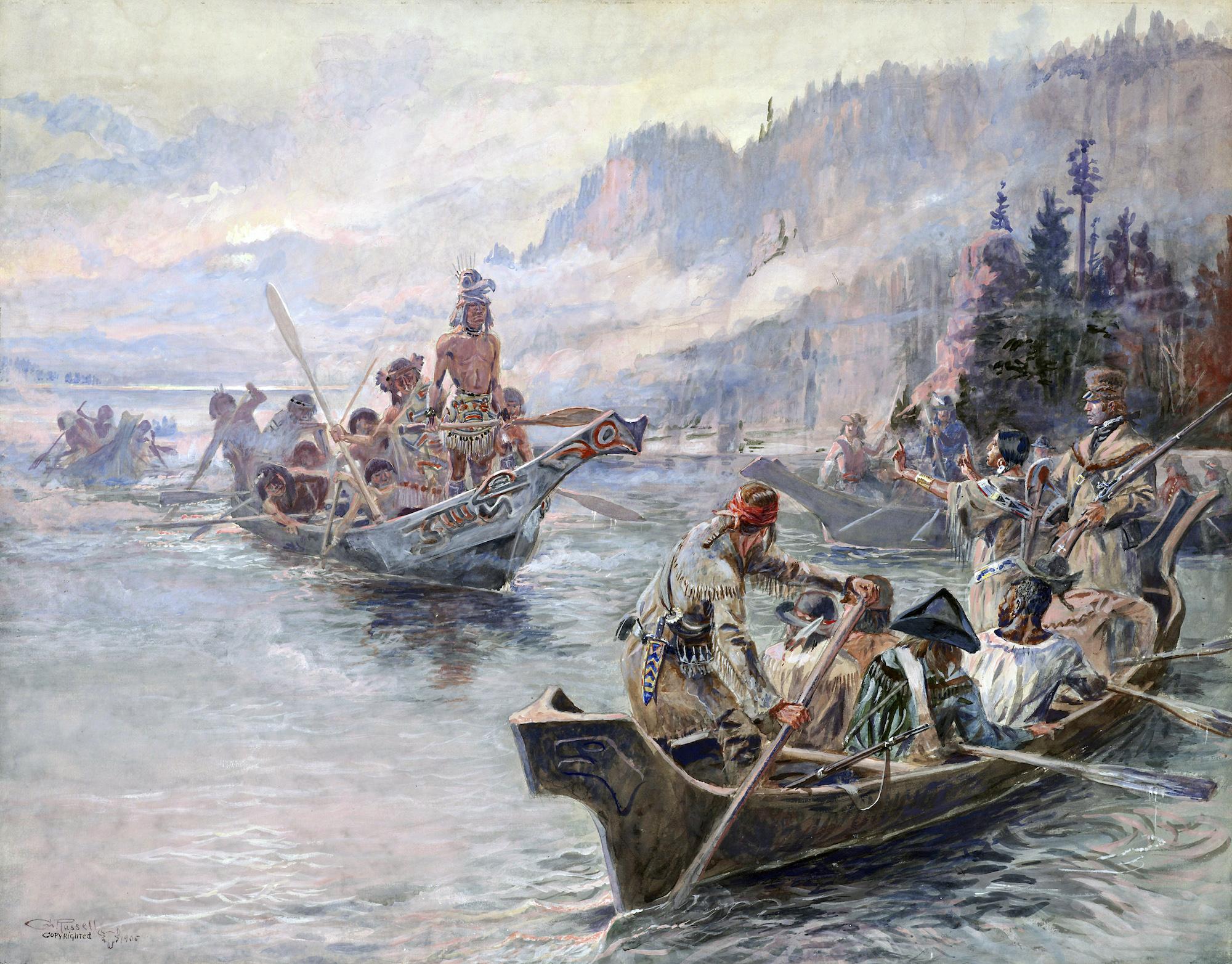 La spedizione di Lewis & Clark