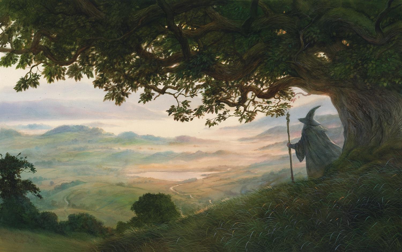 """""""I viaggiatori della Terra di Mezzo"""": Alan Lee e John Howe a Milano per un corso di illustrazione dedicato a Tolkien"""