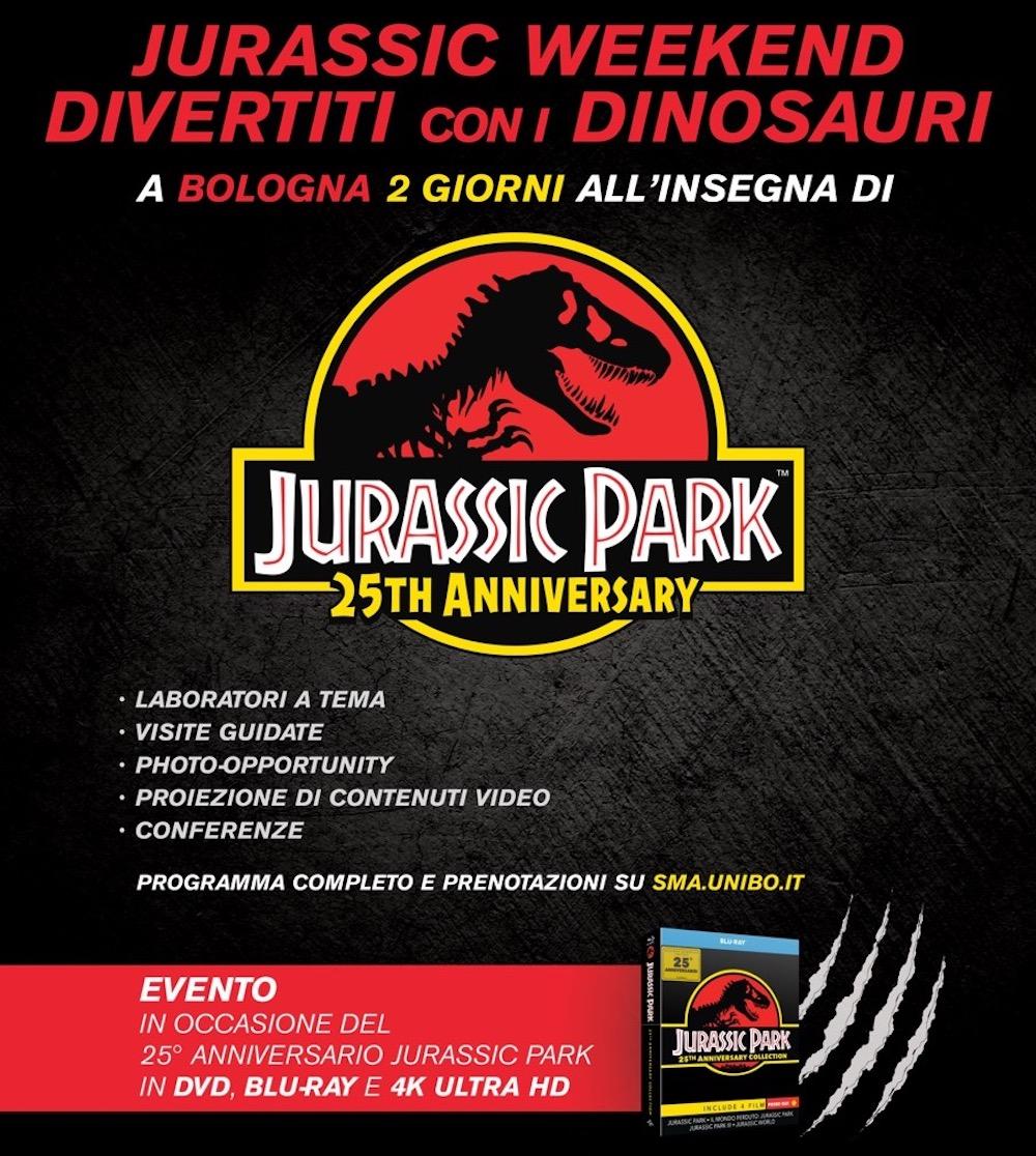 Jurassic Weekend: 13 e 14 ottobre al Museo Capellini di Bologna