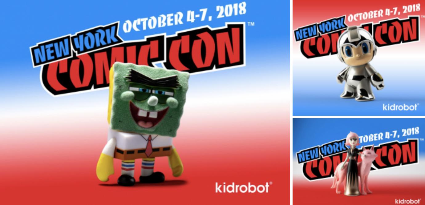 Kidrobot: le esclusive al NYCC 2018