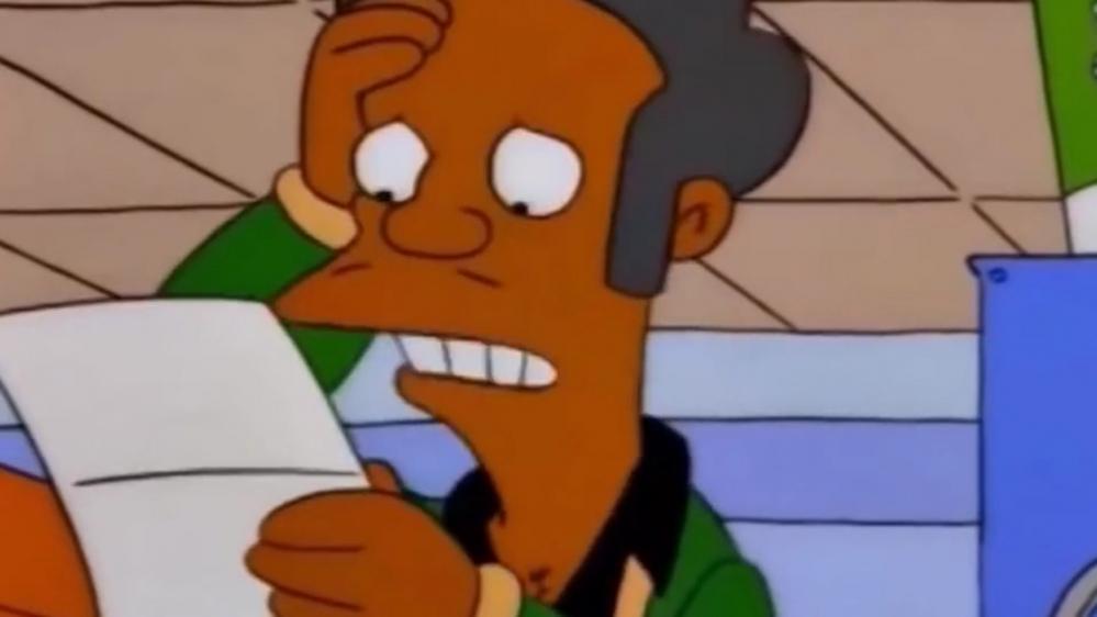 Il personaggio di Apu verrà eliminato dai Simpson