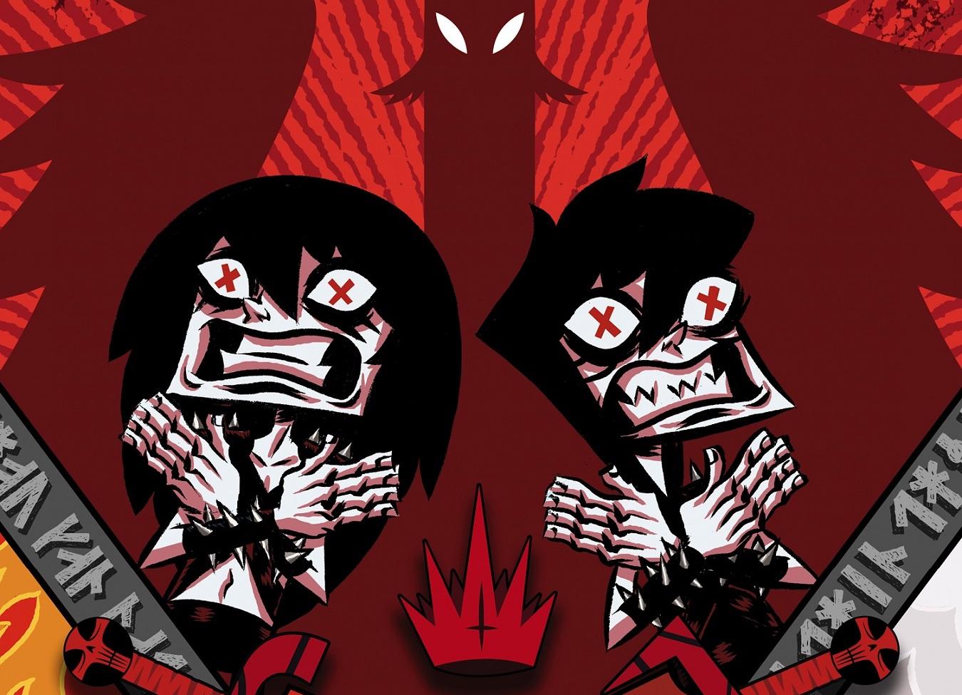 Black Metal: le avventure metallare di Shawn e Sam tornano a Lucca Comics