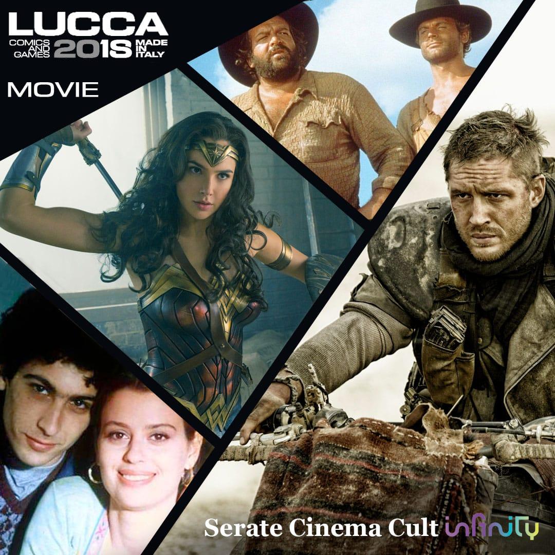 Infinity porta il grande cinema cult al Lucca Comics & Games 2018