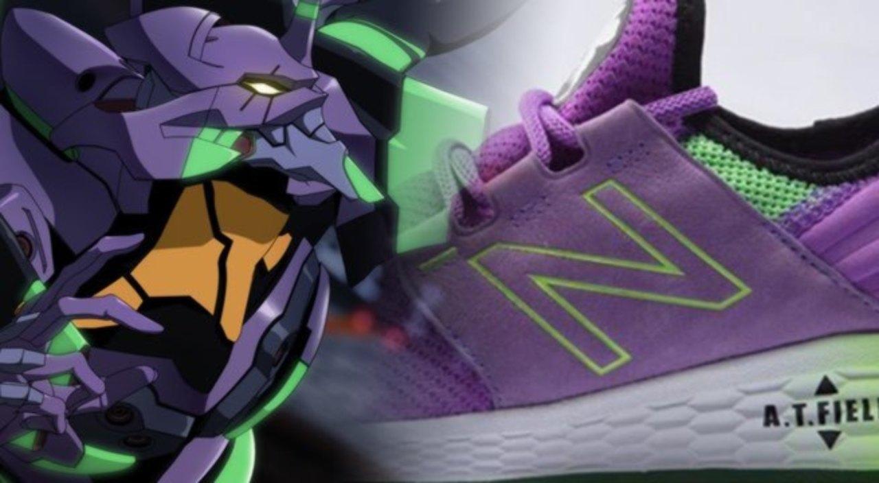 New Balance rivela le sneakers di Evangelion