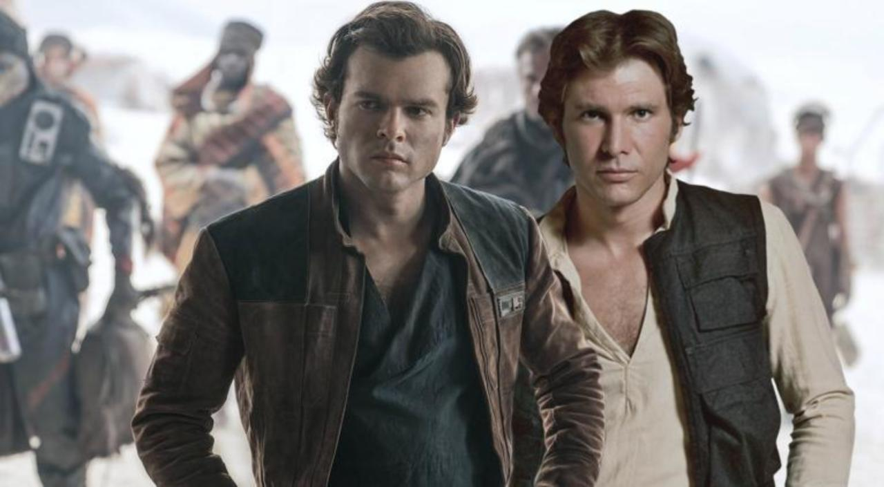 Star Wars: Harrison Ford nel trailer di Solo grazie al deepfake