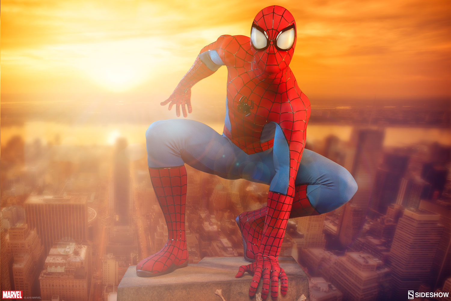 Spider-Man Legendary Scale Figure by Sideshow Collectibles