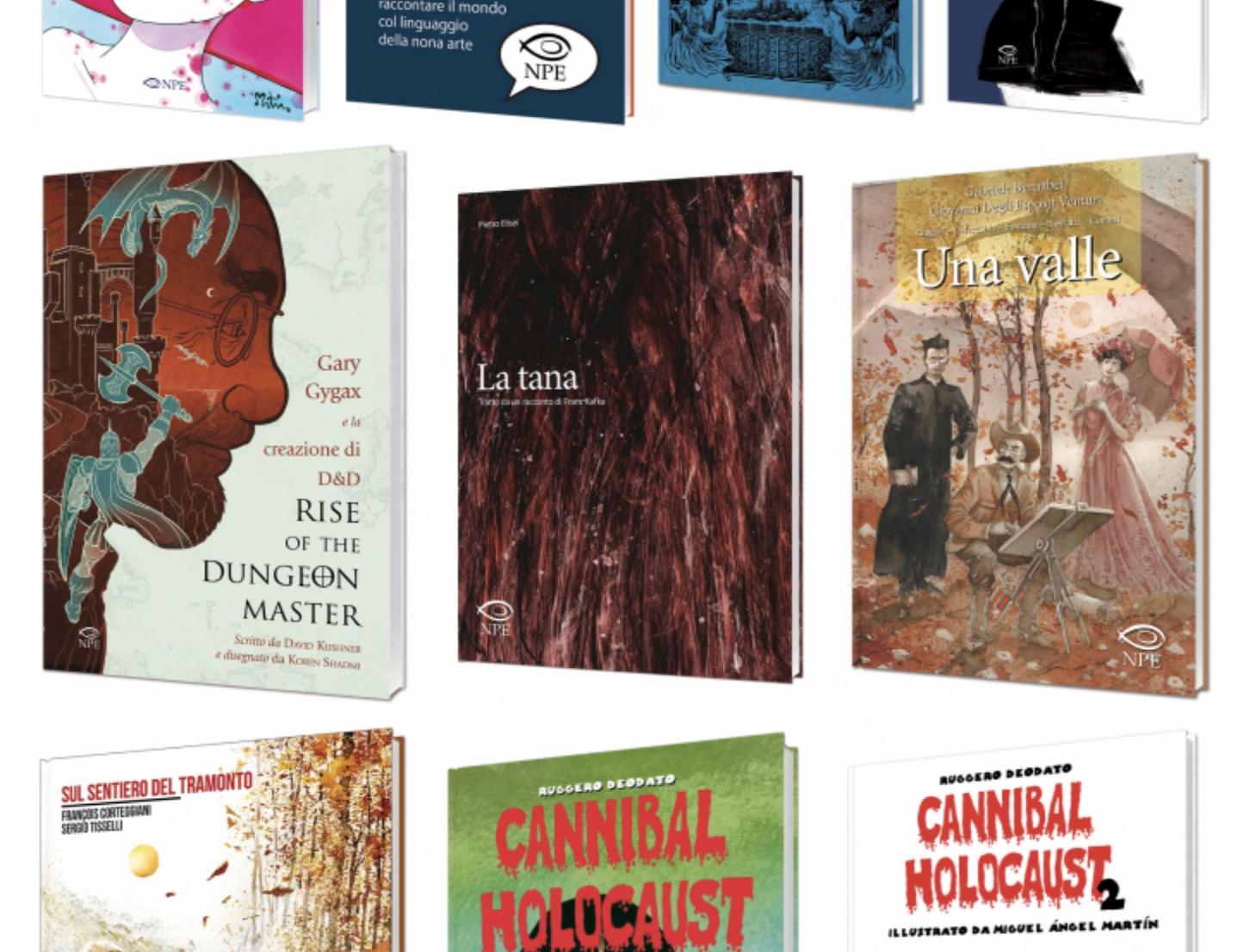 Rise of the Dungeon Master, Cannibal Holocaust 2, Bob Dylan e tutte le altre novità di Edizioni NPE a Lucca Comics & Games 2018