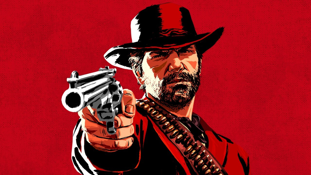 È a Lucca il poster più grande d'Italia di Red Dead Redemption 2