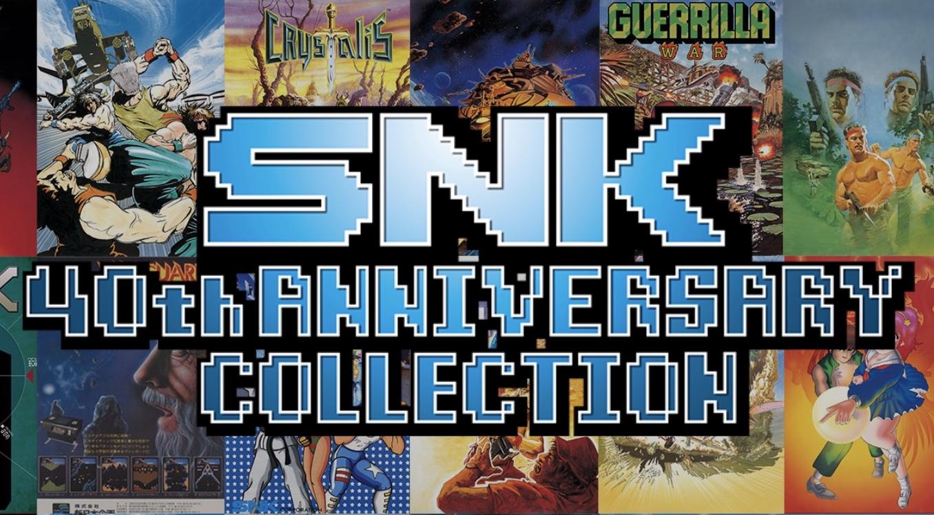 SNK 40th Anniversary Collection ora disponibile per Switch