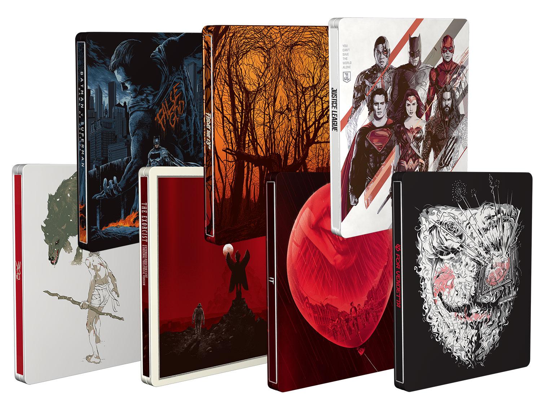 Mondo X Steelbook: 7 edizioni speciali per i classici Warner Bros