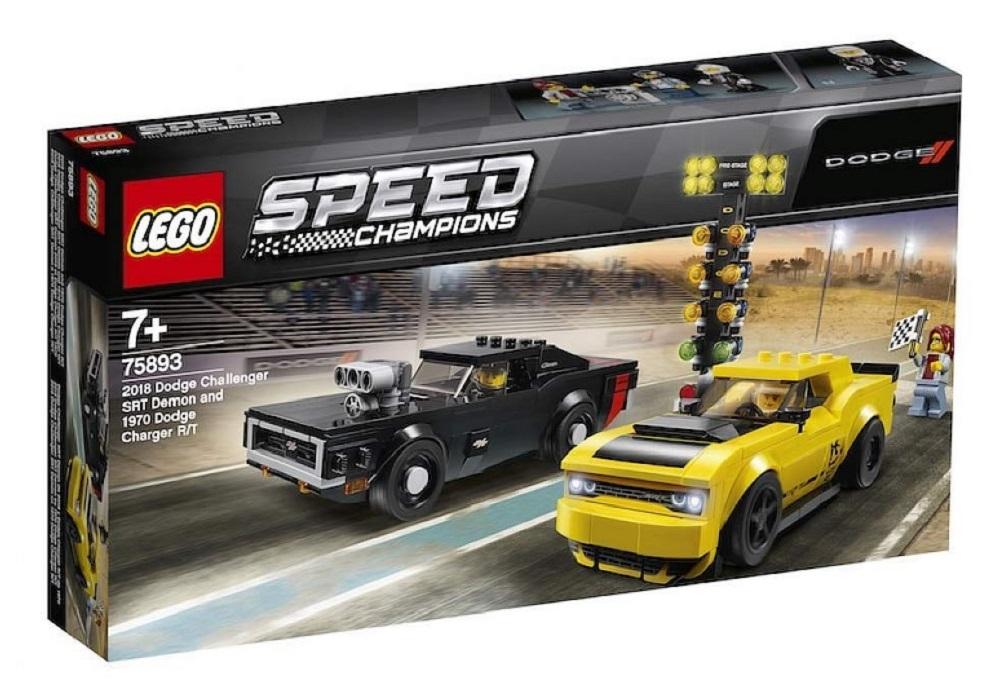 [AGGIORNATO] Svelate tutte le auto della serie LEGO Speed Champions 2019
