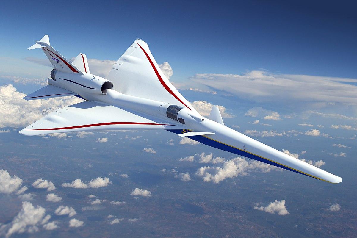 NASA e Lockheed Martin sono al lavoro su un nuovo volo commerciale supersonico