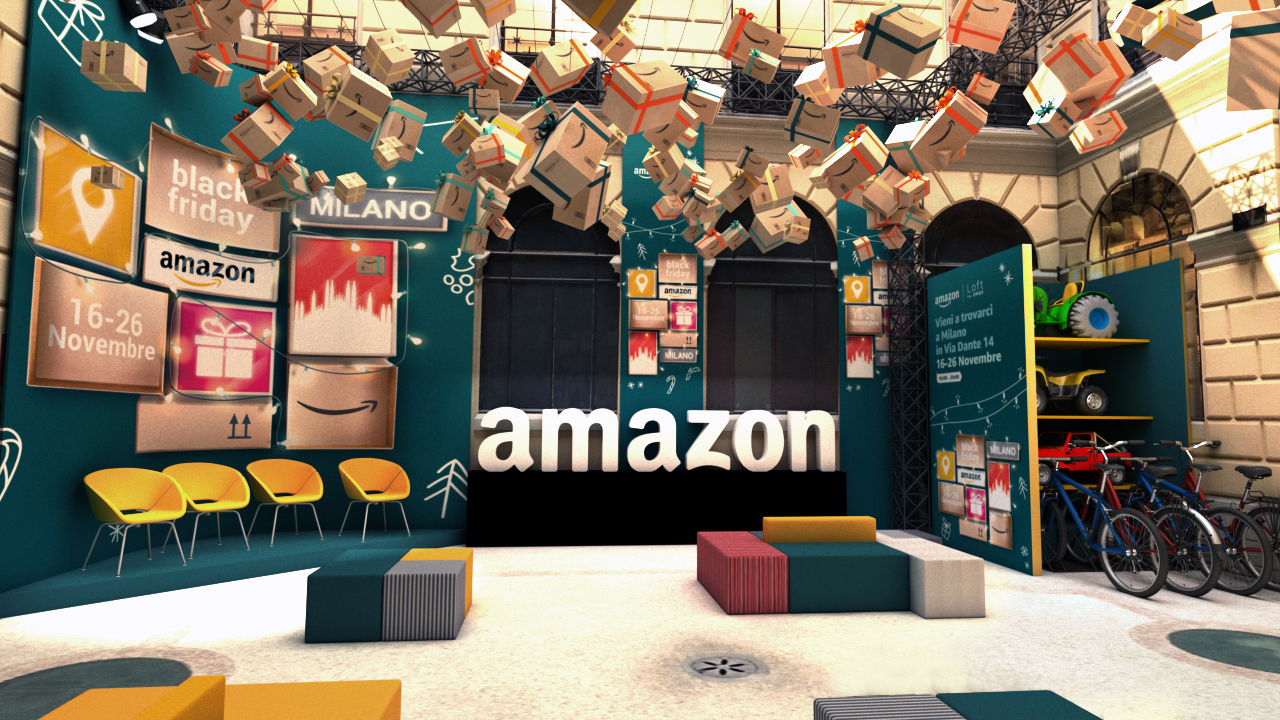Amazon Loft for Xmas:  tutti gli appuntamenti da non perdere