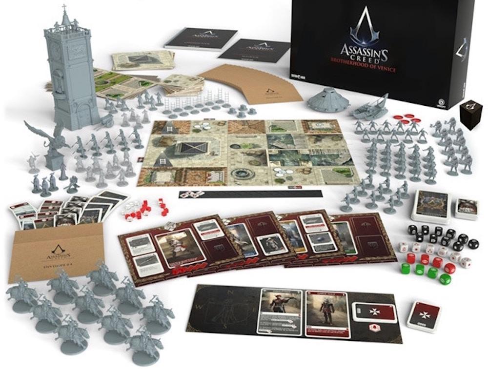 Assassin's Creed: Brotherhood of Venice: in dirittura d'arrivo la campagna Kickstarter per il boardgame