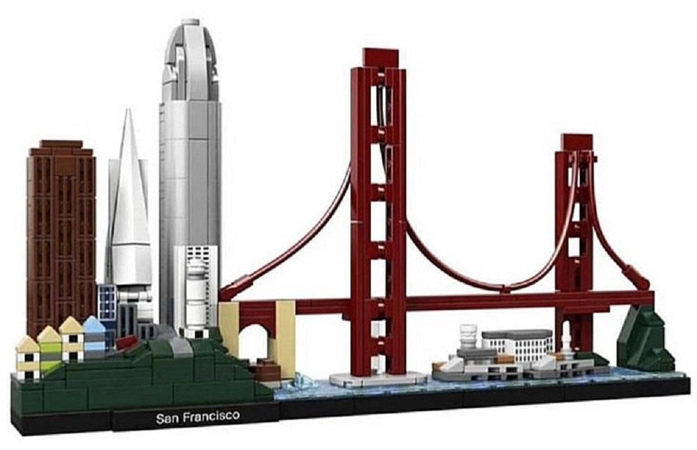 Nuovi set LEGO Architecture di Parigi e San Francisco