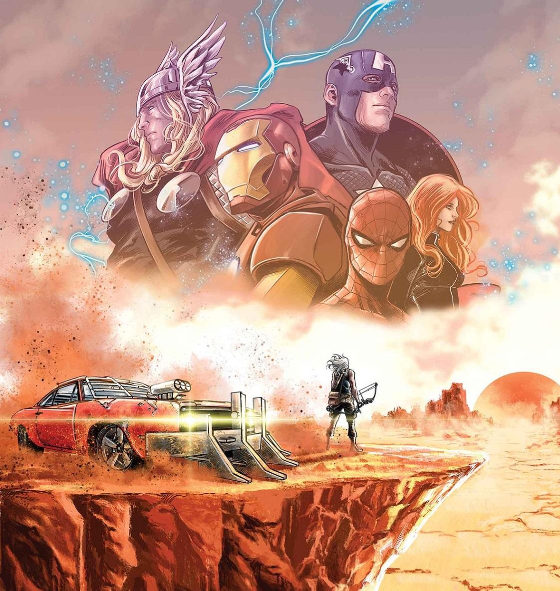 Vecchio Occhio di Falco: il ritorno alle Wasteland per la vendetta di Clint Barton