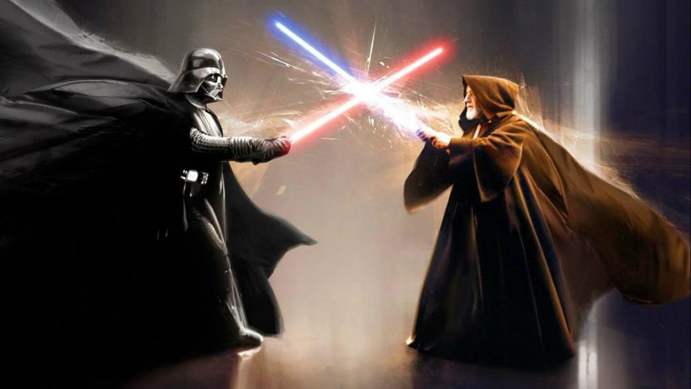 Il duello tra Darth Vader e Obi Wan Kenobi come non lo abbiamo mai visto