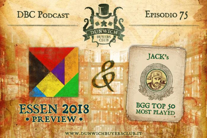 DBC75: I giochi più attesi di Essen Spiel 2018, Jack's BGG Top 50