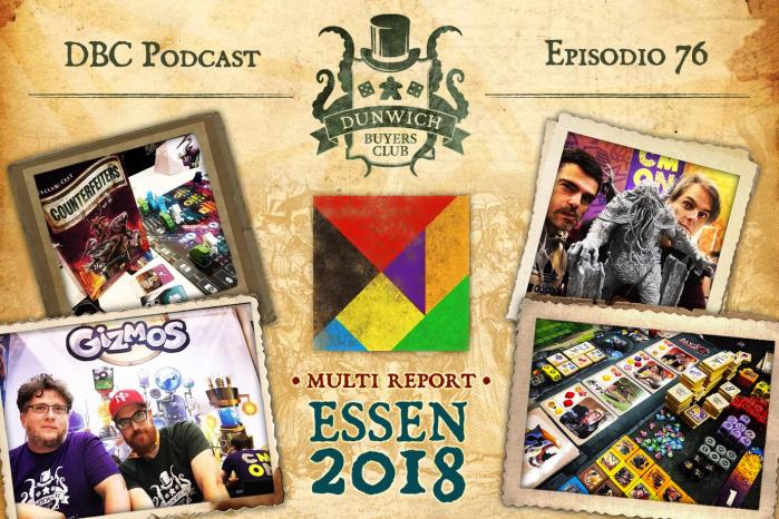 DBC76: Report da Essen Spiel 2018