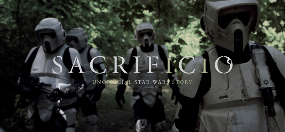 Ecco il trailer di Sacrificio, fan film di Star Wars tutto italiano
