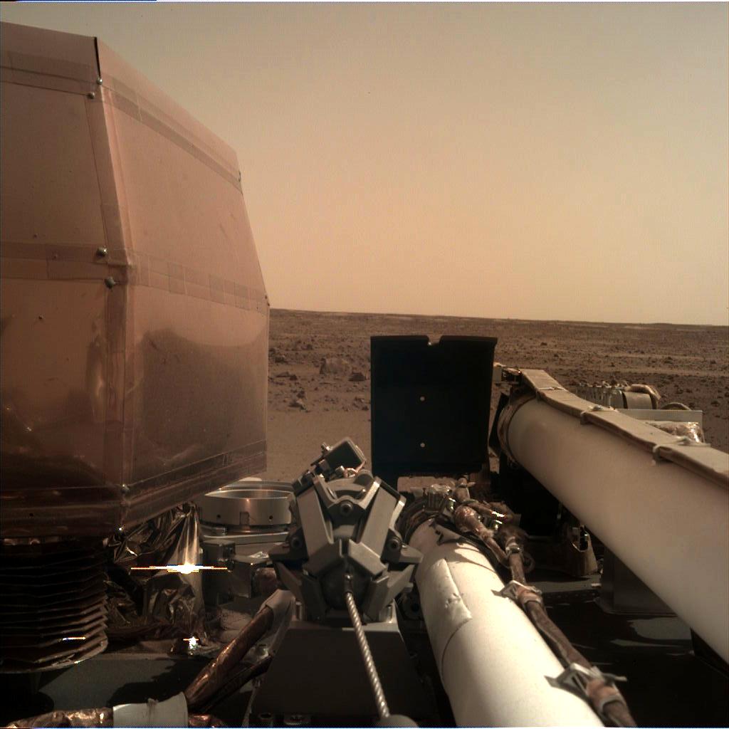 La sonda Insight è atterrata con successo su Marte