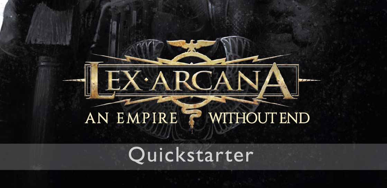 Disponibile il Quickstarter di Lex Arcana